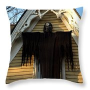 Death Eater Ghoul Throw Pillow