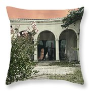 Death Of A Prom Queen Bellemont Baton Rouge Throw Pillow