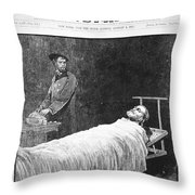 Death Of Ulysses S. Grant Throw Pillow