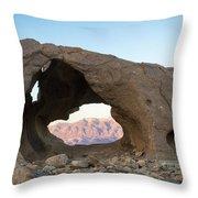 Death Valley Rock Throw Pillow