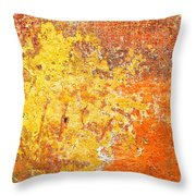 Decayed Wall Throw Pillow