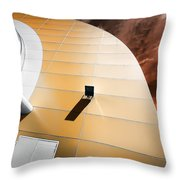 Deckchair In Space Throw Pillow