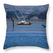 Decommissioned Vs In-service Throw Pillow