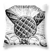 Decorative Cut: Bread Throw Pillow