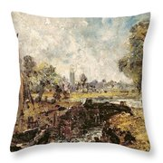 Dedham Lock Throw Pillow