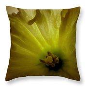 Deep Inside The Daffy Throw Pillow