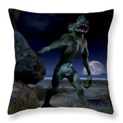 Deep One Throw Pillow