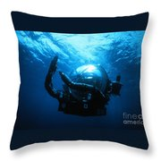 Deep Rover Throw Pillow
