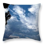 Deep Skies Throw Pillow