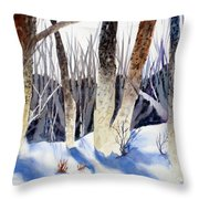 Deep Woods 1 Throw Pillow