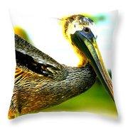 Deerfield Pelican Throw Pillow