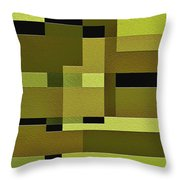 Defiance Throw Pillow by Ely Arsha