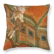 Degas: Miss La La Throw Pillow