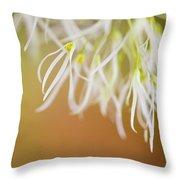 Delicate Petals Throw Pillow