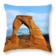 Delicate Sights Throw Pillow