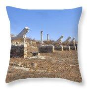 Delos Throw Pillow by Joana Kruse
