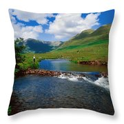 Delphi Fishery, Co Mayo, Ireland Throw Pillow