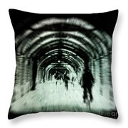 Delusions Throw Pillow by Andrew Paranavitana