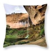 Demon Canyon Throw Pillow