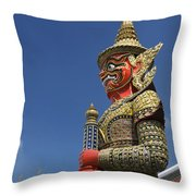 Demon Guardian Throw Pillow