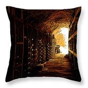 Den Of Dionysus Throw Pillow