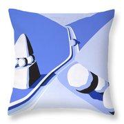 Denizens Two Throw Pillow