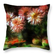 Depths Of Tranquility Throw Pillow