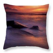 Derrynane Bay, County Kerry, Ireland Throw Pillow