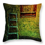 Descend From Pane  Throw Pillow