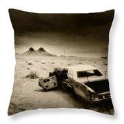 Desert Arizona Usa Throw Pillow