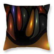 'desert Bubbles Throw Pillow