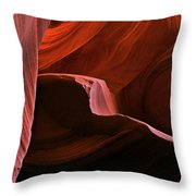 Desert Depths Throw Pillow