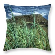 Desert Monolith Throw Pillow