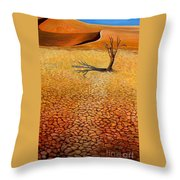 Desert Pan Throw Pillow