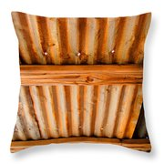 Desert Tin Throw Pillow