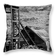 Deserted Mine Throw Pillow