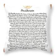 Desiderata Aztec Sunstone Throw Pillow