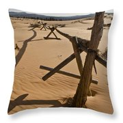 Desolate Throw Pillow by Heather Applegate