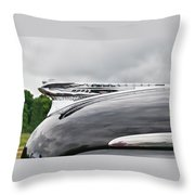 Dessoto Hood Ornament 8622 Throw Pillow