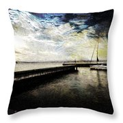 Destination - Pacific Throw Pillow