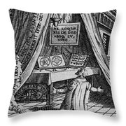 Detail From The First Stage Throw Pillow