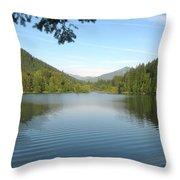 Detroit Lake Throw Pillow