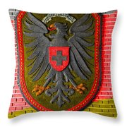 Deutsch Weimarer Shield Throw Pillow