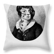 Development Of Smallpox Throw Pillow