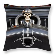 Devil In The Details Throw Pillow