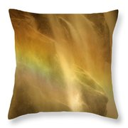 Devil In The Rainbow Throw Pillow