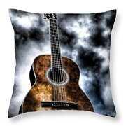 Devils Acoustic Throw Pillow