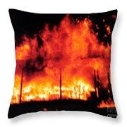 Devils Diner - Digital Art Throw Pillow