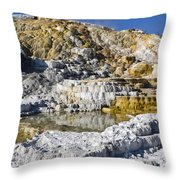 Devils Thumb Throw Pillow