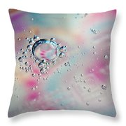 Dewdrops Throw Pillow